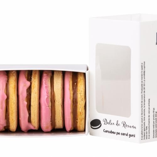 Biscuiti cu crema ideali pentru cafea sau ceai