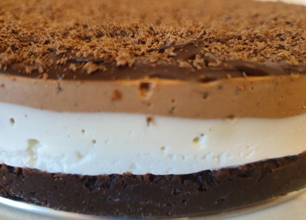 Cheesecake ciocolata neagra 1400 gr