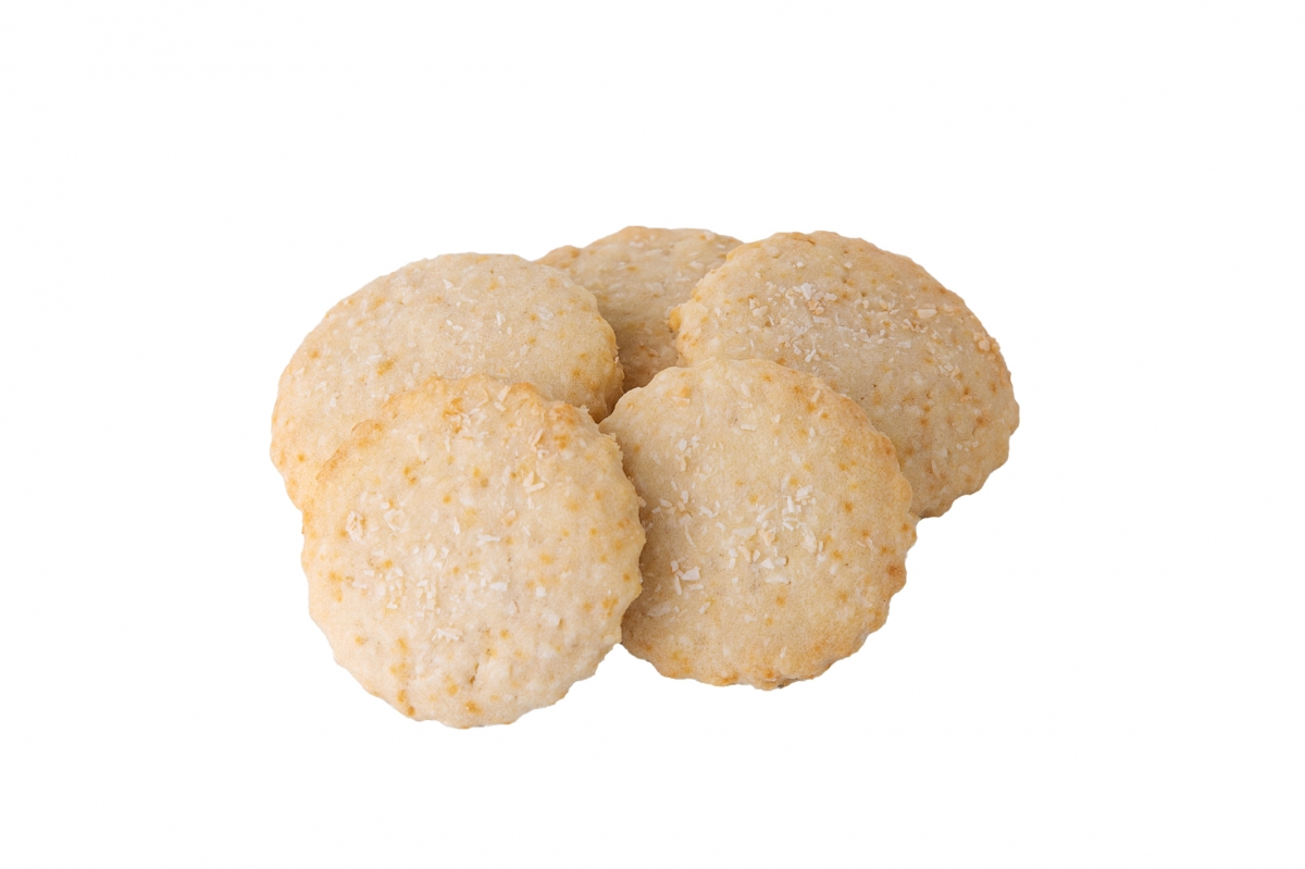 Fursecuri cu nuca de cocos 250 gr
