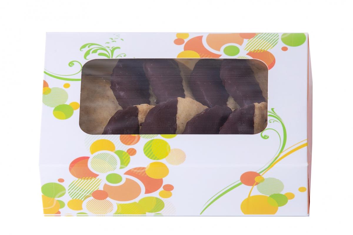 Fursecuri cu nuci si ciocolata neagra 250 gr