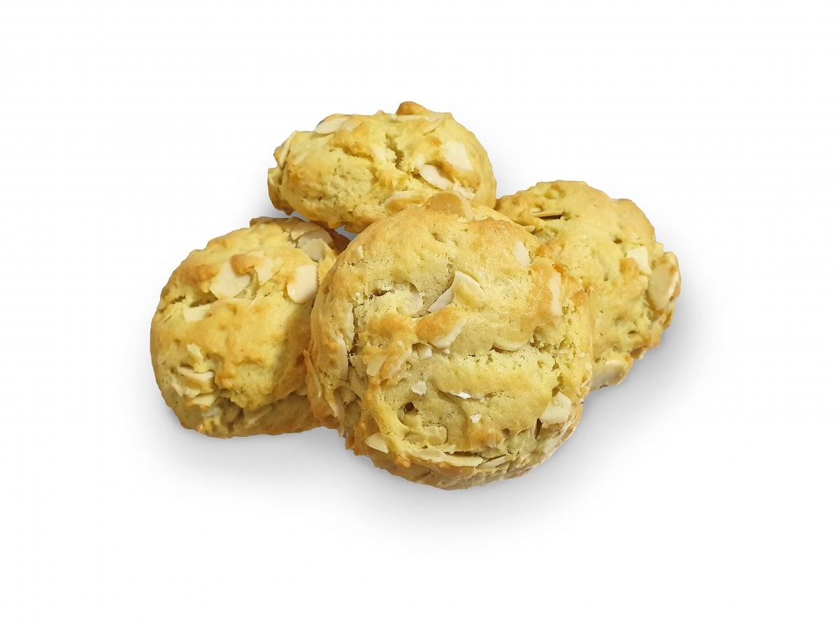 Cookies cu fulgi de migdale 250 gr