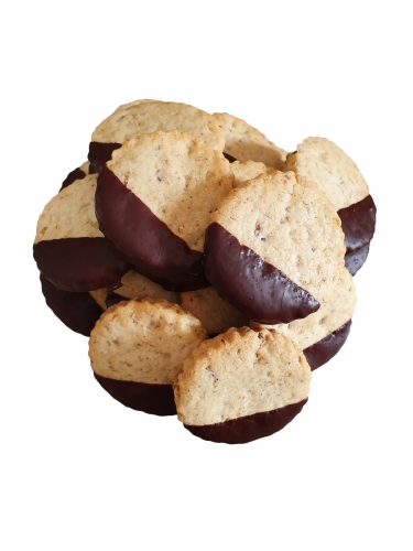 Fursecuri cu nuci si ciocolata neagra 500 gr