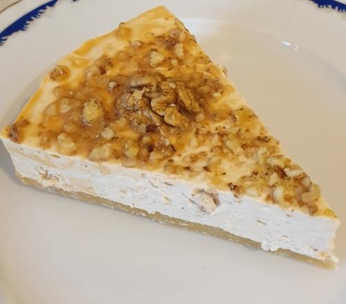 Cheesecake caramel si nuci 175 gr